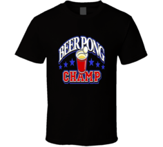Beer Pong Champs Drinking Red Solo Cup  T Shirt - $17.99+