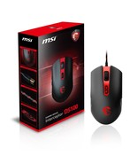 MSI Interceptor DS100 Wired GAMING Mouse [New] DS 100 Computer Video Gam... - $28.77