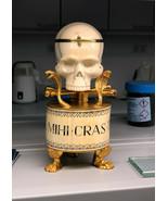 Unique Extremely rare Victorian Antique Doctor Skull Desk Fusee 19th Clo... - $16,237.80