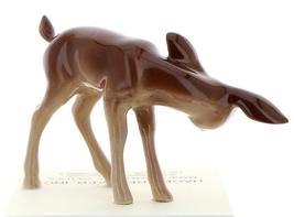 Hagen-Renaker Miniature Ceramic Deer Figurine Sister Doe and Fawn Sleeping Set image 5