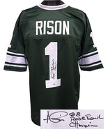 Andre Rison signed Green TB Custom Stitched Jersey 88 Rose Bowl Champion XL - $99.95