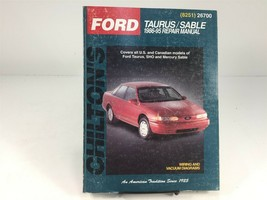1986-1995 Chilton Ford Taurus Sable Repair Manual 26700 - $12.99