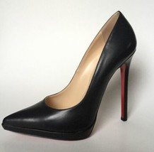 NEW Christian Louboutin Pigalle 120 Plato Pointy Toe Pumps (Size 38.5)-$... - $699.95