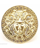 Medusa Head Ring New With Stretch Band Egyptian - $17.42