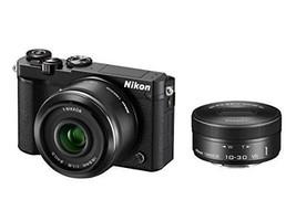 Nikon mirrorless single-lens Nikon1 J5 double lens kit black J5WLKBK - $504.90