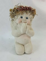 Dreamsicles 2 Cherub/Angels with Bowl and hearts Figure Kristin  Cast Ar... - $11.95