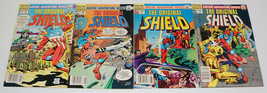 the Original Shield #1-4 VF complete series - archie comics - all newsstand - $12.34