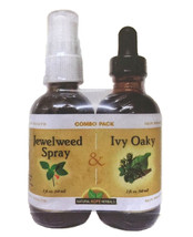 HEALTHY SKIN SUPPORT COMBO PACK - IVY OAKY TINCTURE & JEWELWEED SPRAY - $26.70