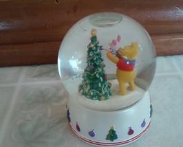 Disney Winnie Pooh Friends Celebrating 80 yrs Adventures Christmas Snow ... - $17.75