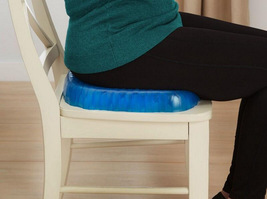 Gel Cushion Honeycomb Seat & Non-Slip Cover - Design Sitter Helps Pressure Point image 6