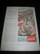 1930 Vintage Coca-Cola ATLANTIC CITY BOARDWALK Coke Ad Advertisement Print - $9.89