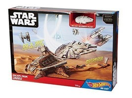 Star Wars VII The Force Awakens Escape from Jakku Playset Starship by Ho... - $49.50