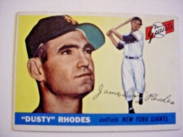 1956 Topps #1 Dusty Rhodes Baseball Card-vg - $25.00