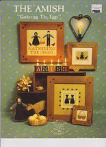 Cross Stitch Patterns, The Amish, Gathering the Eggs, Homespun Elegance - $4.46