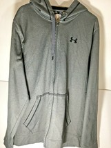 Under Armour Gray Hoodie Men's Size XL Loose Full Zip Comfort leisure at... - $19.00