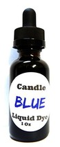 Liquid Candle Dye (Blue) - 1oz Amber Glass Dropper Bottle with Childproo... - $9.87