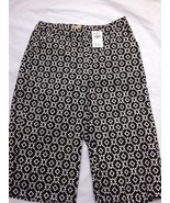 New HOLLISTER Size 00 Blk & Wht Print Walking Shorts NWT $34.95 MSRP - $8.70