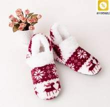 Socks Slippers Women Winter Warm Girls Bedroom Floor Sock Adult Non-Slip... - $11.46
