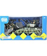 Kool Toyz Soldier Playset With Army Tank ~ Soldier Action Figures 2000 NIB - $59.39