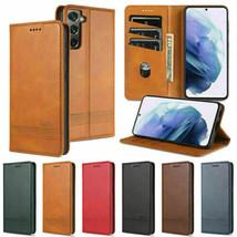 For Samsung A22 A82 A12 A01 A51 M31 M51 A42 A32Flip Magnetic Leather Fli... - $59.34