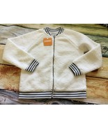 Gymboree 7 8 Ready Jet Go Sherpa Bomber Jacket Coat NWT - $14.95