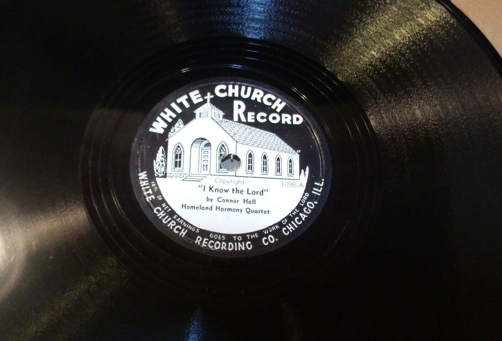 White ChurchRecord # 1098 AA-191720G Vintage Collectible