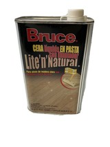 Bruce Liquid Paste Wax with Cleaner Lite n Natural Hardwood Floor Finish New - $77.22