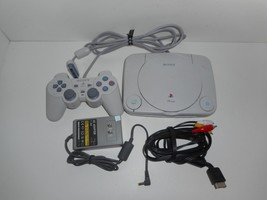 PSONE PS1 Slim Console SCPH-101 Controller Power Supply AV Cable Parts o... - $29.99