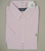 NEW $90 Polo Ralph Lauren Seersucker Oxford Shirt!  *4 Colors*  *Short Sleeved* - $47.99