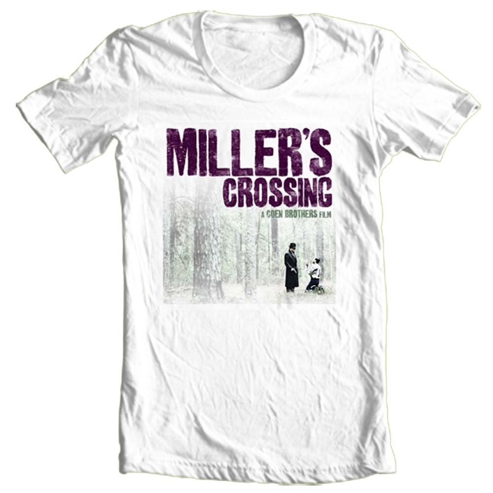 Millers Crossing T shirt retro 90s movie indie film 100% cotton graphic tee