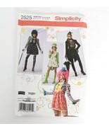 Simplicity 2525 Steampunk Mardi Gras Sz 14 16 18 20 Short Dress Jacket U... - $17.99