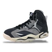 Nike Air Jordan 6 Retro Tech Chrome Smoke Grey Womens Basketball CK6635-001 NEW - $190.00