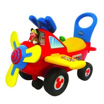 NEW! Kids Toy Plane Ride On ActivityMickey Mouse Light and Sound US - $87.01
