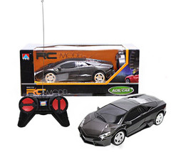 RC Remote Control Sports Car With Lights 1:24 (Black) - $39.99