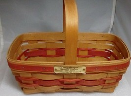Longaberger 1990 Gingerbread Basket Brass Tag  - $19.60
