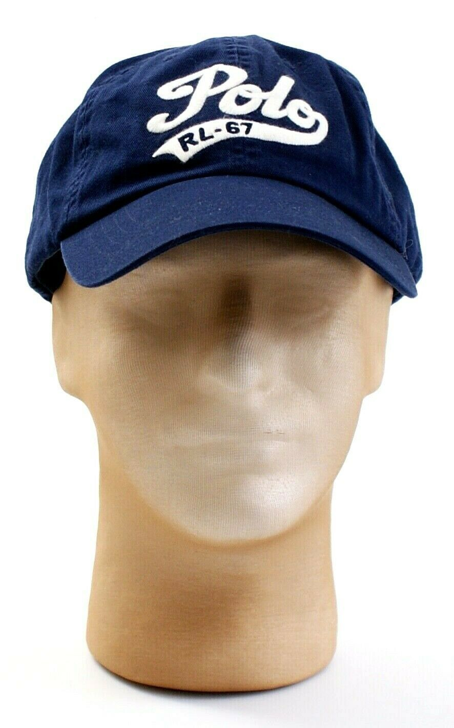 553e92bf34dd9f 57. 57. Previous. Polo Ralph Lauren Blue Adjustable Leather Strap Cap Hat  Adult One Size NWT · Polo Ralph ...