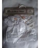 NEW The Muffy Vanderbear Collection Christening Dress Sleep Gown & Bonnet - $23.99