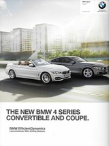 2014 BMW 4-SERIES Coupe Convertible brochure catalog US 14 428i 435i xDrive - $10.00