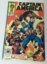 Captain America Vol. 1 No 335 November 1987 New Cap in 1st Adventure Com... - $13.21