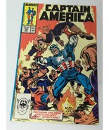 Captain America Vol. 1 No 335 November 1987 New Cap in 1st Adventure Com... - $13.21