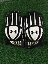 Team Issued Baltimore Ravens Under Armour Fierce IV 2xl Football Gloves - $19.99