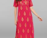 Janasya Indian Women's Pink Pure Cotton Kurta With Pant - £23.53 GBP