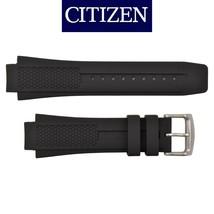 Genuine Citizen 59-S52077 22mm  Black Rubber Watch Band S067456 S067430 - $60.95