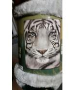 Bengal Tiger American Heritage Woodland Plush Raschel Throw blanket - $23.75