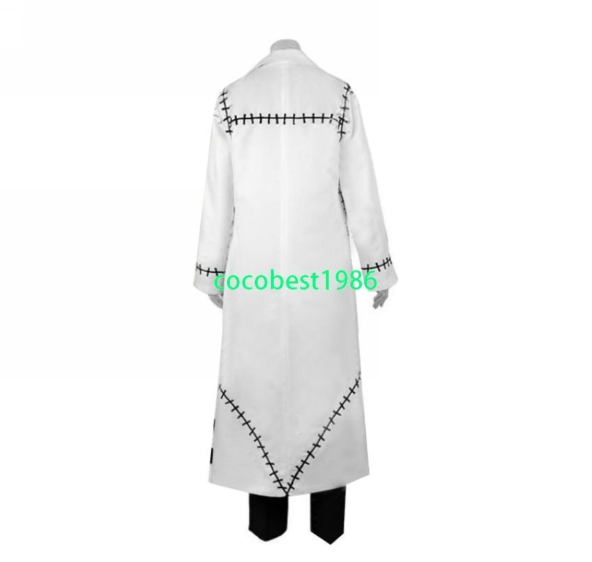 Halloween costume Dr Stein Cosplay from Soul Eater any size  top pants coat