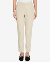 Nine West Women's Skinny Stretch Cropped Pants Size 10 Color Desert #1293 - $24.99