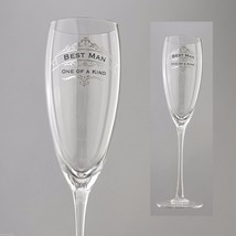 Best Man One of a Kind Toasting Glass Insignia Brand in Gift Box