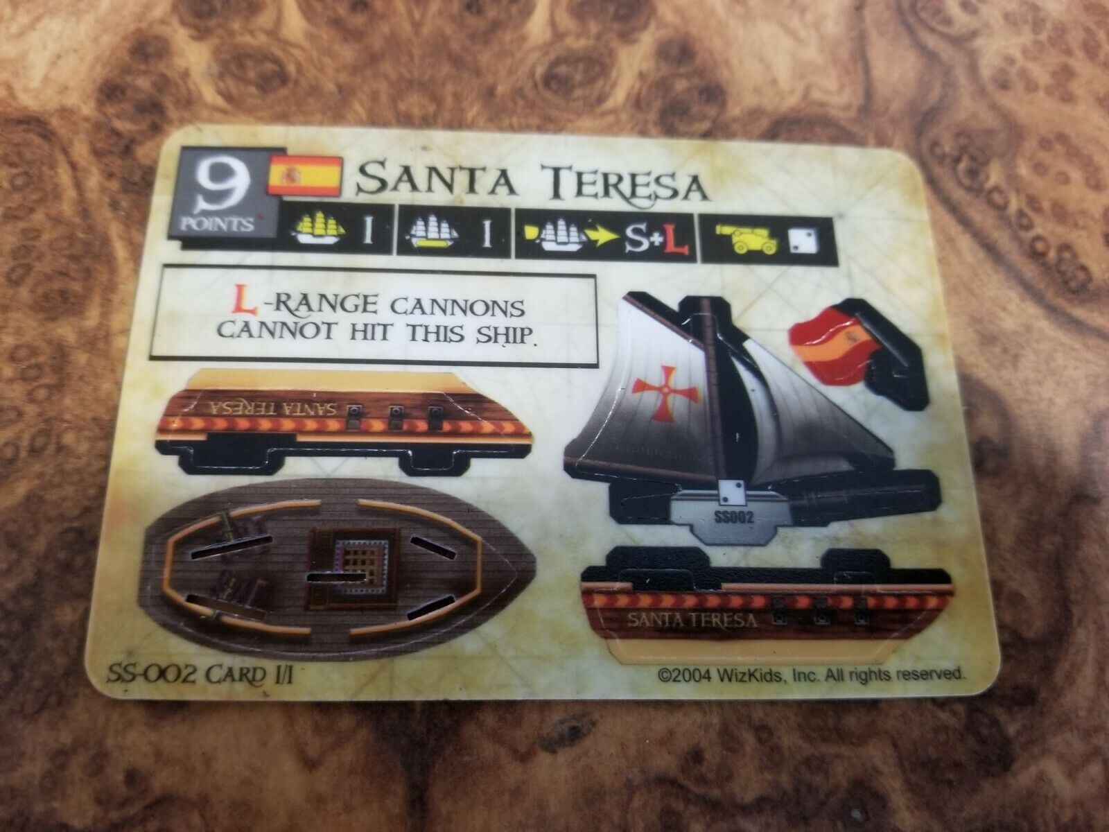 Primary image for Wizkids Pirates CSG Spanish Main  Santa Teresa SS-002