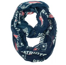 Little Earth NFL New England Patriots Sheer Infinity Scarf NWT - $13.38