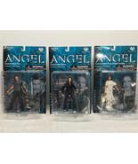 "Angel Series 1 6"" Figures Exclusive Vampire, Leather, Slave - Moore Acti... - $38.69"